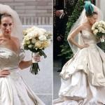 """Vestido da noiva atriz do filme """"Sex and the city"""". (Foto: divulgação)"""