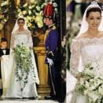 Em O Diário da Princesa 2, Anne Hathaway usou um vestido digno de princesa. (Foto: divulgação)