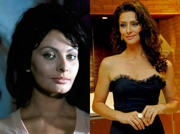 Com sua beleza clássica, Maria Fernanda Cândido é frequentemente comparada à musa italiana Sophia Loren. (Foto: divulgação)