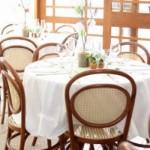 Mesas para acomodar convidados