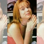 """Em """"Andando nas Nuvens"""" a franjinha era o diferencial do visual da atriz. (Foto: divulgação)"""