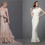 Vestido para noivas mais discretas, menos chamativas. (Foto: divulgação)