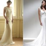 A simplicidade dos vestidos retrô chama a atenção pelos detalhes que acompanham a silhueta do corpo. (Foto: divulgação)