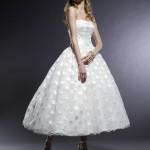 Vestido de noiva mid tomara que caia. (Foto: divulgação)