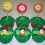 Pequenos detalhes fazem a diferença na hora de decorar o cupcake. (Foto: divulgação)