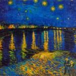 """""""Starry Night"""" de Vincent Van Gogh. (Foto: divulgação)"""