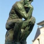 """""""O Pensador"""", obra de Auguste Rodin. (Foto: divulgação)"""