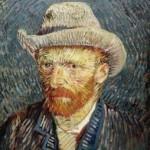 """""""Auto-Retrato"""" feito por Vincent Van Gogh. (Foto: divulgação)"""