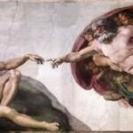 """""""Capela Sistina"""" (A criação de Adão) feita por  Michelângelo. (Foto: divulgação)"""
