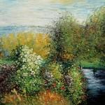 """""""Canto do jardim de Montgeron"""" de Claude Monet. (Foto: divulgação)"""