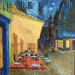 """Café Terrace at Night "" de Vincent Van Gogh. (Foto: divulgação)"