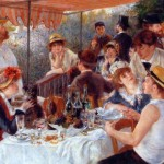 """Luncheon of the Boating Party"" por Pierre Auguste Renoir. (Foto: divulgação)"