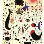 """""""Números e constelações em Amor com uma Mulher"""" de Miró. (Foto: divulgação)"""