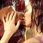 Homem Aranha - Peter Parker (Tobey Maguire) e Mary Jane (Kirsten Dunst).
