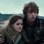 Harry Potter - Rony (Rupert Grint) e Hermione (Emma Watson).