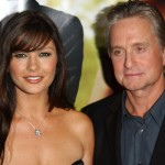 Catherine Zeta jones e Michael Douglas