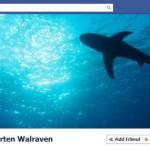 Água com tubarões. (Foto: divulgação)