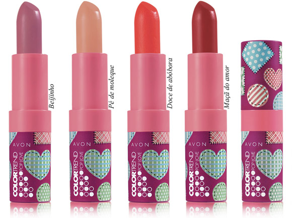 São 4 cores lindas para todas as bocas e gostos (Foto: Divulgação)