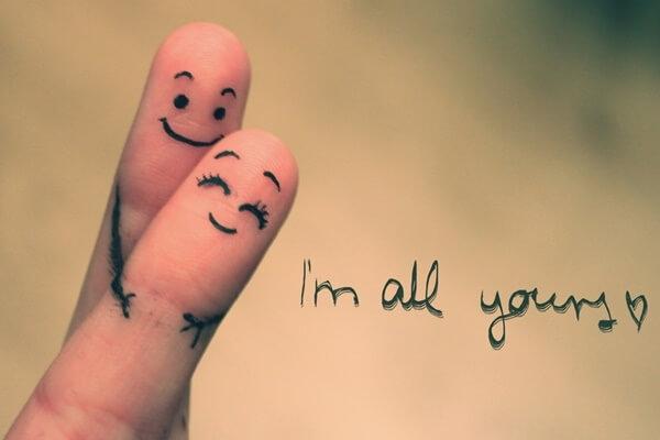 Seja feliz com seu parceiro! (Foto: Reprodução)