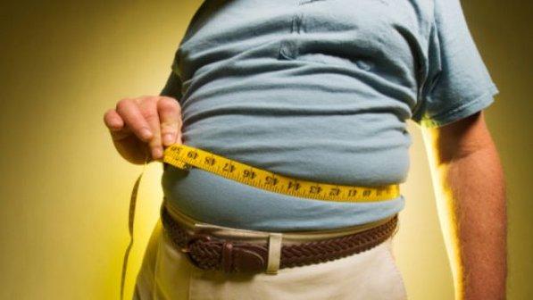A obesidade pode contribuir para o aparecimento do diabetes.