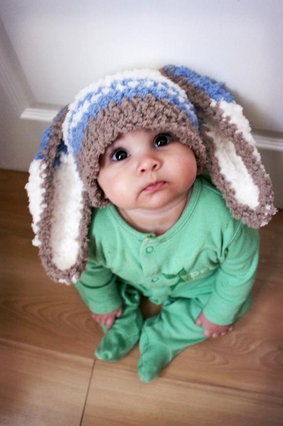 """Bebê fantasiado de """"Coelhinho"""" (Foto: divulgação)"""