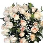 """Buquê de """"Rosas Champagne"""" significa admiração. (Foto: divulgação)"""
