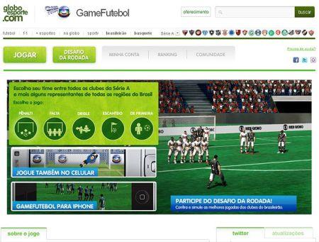Com o game futebol do Globo Esporte você joga online contra outros usuários ou pode escolher enfrentar a máquina