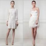 As grandes marcas e casas de moda colocaram em suas coleções alguns vestidos de noiva dos estilistas famosos, que desenvolvem criações próprias para casamentos no civil. (Foto: divulgação)