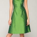 O verde é uma opção para as noivas modernas e despojadas que querem fugir do tradicional. (Foto: divulgação)