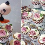 Fique por dentro das tendências de casamento aderindo a torre de cupcakes.