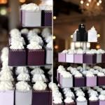 Os cupcakes são versáteis na decoração do casamento.
