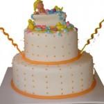 Bolo infantil motivo da decoração: banho. (Foto: divulgação)