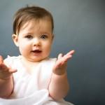 A pureza e inocência dos bebês pode ser sentida em um sorriso. (Foto: divulgação)
