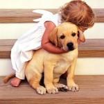 Esse contato com animais é tão positivo que muitas donas de cães dóceis realizam trabalho voluntário com seus animais em casas de repouso e instituições infantis. (Foto: divulgação)