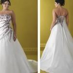 É importante que as noivas escolham bem o vestido desse modelo. (Foto: divulgação)
