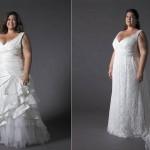 O corte e o tecido do vestido depende da preferência da noiva e o estilo de casamento. (Foto: divulgação)