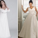 O vestido de noiva perfeito é aquele que ressalta a beleza da mulher, deixando-a muito mais bela do que já é. (Foto: divulgação)