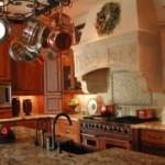 Cozinha com visual country