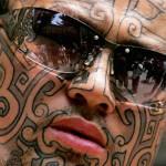 Algumas tatuagens modificam o rosto das pessoas. (Foto: divulgação)