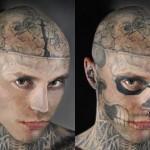 A paixão pela arte de tatuar não tem limites. (Foto: divulgação)