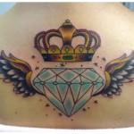 Hoje em dia as tatuagens são verdadeiras obras de arte. (Foto: divulgação)