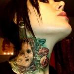 É necessário ter cuidados especiais depois de feita a tatuagem para garantir que os traços permaneçma perfeitos. (Foto: divulgação)