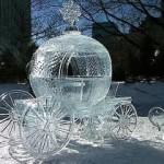 A abóbora que virou carruagem do conto de fadas da Cinderela. (Foto: divulgação)