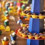 Forminhas coloridas para os doces.