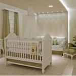 Na hora de decorar o quarto do bebê, opte por cores tranquilas e suaves.