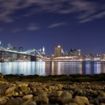 Brooklyn Bridge à noite. (Foto: divulgação)