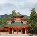Kyoto - Santuário Heian Jingu - Japão (Foto: divulgação)