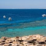 Existem dezenas de pequenos resorts ao largo do Mar Vermelho, na Península do Sinai, atraindo milhares de turistas em busca de sol e excelentes pontos de mergulho - Egito (Foto: divulgação)