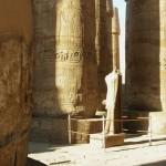 Sala hipostila no complexo de templos de Karnak, Egito (Foto: divulgação)