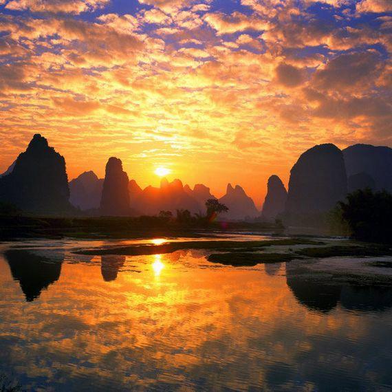 Lindas paisagens compõem a beleza da China (Foto: divulgação)